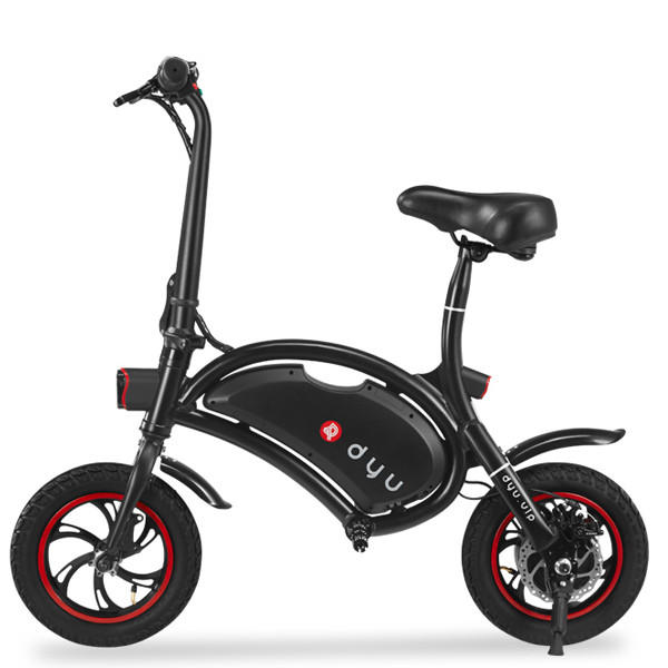 F-wheel Smart Electric Foldable Scooter Motorcycle 12inch Damping Tire 20KM/H - Slabiti
