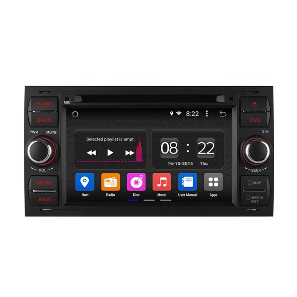 Ownice C180 OL-7295B DVD Player GPS Navigation Audio 2 DIN 2G RAM 1024X600 Quad Core WiFi Canbus - Slabiti