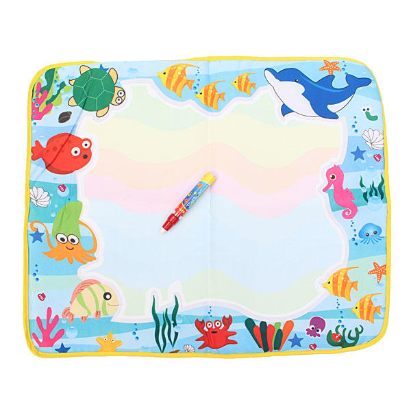Baby Children Water Painting Mat Board Bear Doodle Toy Pen - Slabiti