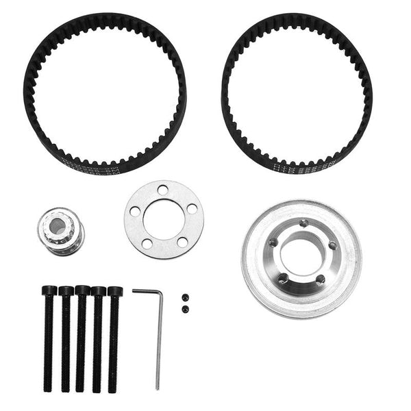 Pulleys and Belt Wheels Kit Tool For 8mm Shaft Motor - Slabiti
