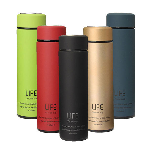500ml Fashional Stainless Steel Travel Mug Thermos Vacuum Flask Cup Bottle Gift - Slabiti