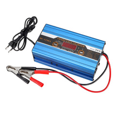 20A/30A/40A Battery Lead-acid 20Ah To 200Ah Smart Charger Multifunction For Car Motorcycle LCD Display - Slabiti