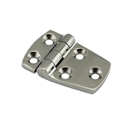 Richwits Stainless Steel 316 Trapezoid Five-hole Hinge Thick Marine Industrial Heavy Duty Large Hinged 38*57 - Slabiti
