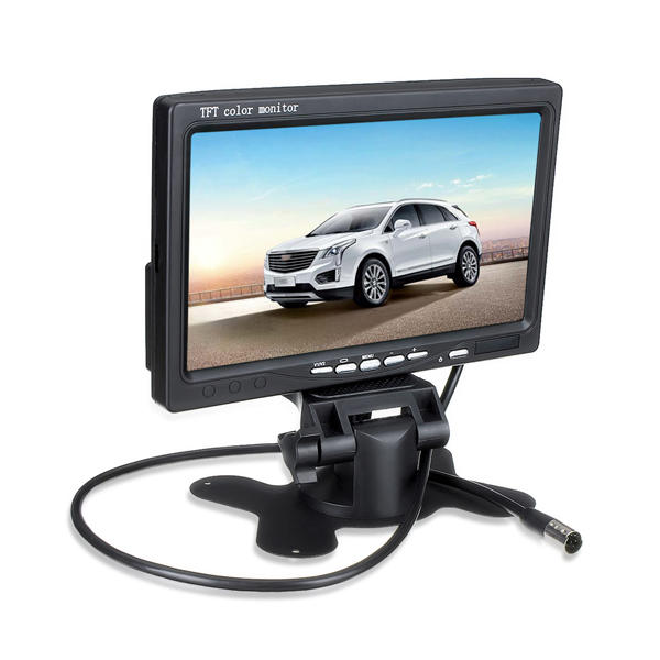 7 Inch TFT LCD Screen Car Monitor For Reversing Rear View Camera - Slabiti