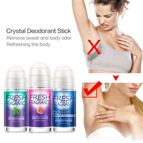 50ml Deodorant Stick Antiperspirant Stick Alum fragrance Deodorant Sweat Deodorant Underarm Removal Spirits Tool body Massage - Slabiti