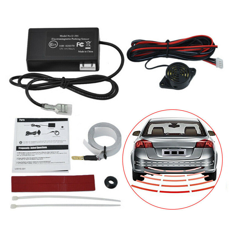 Parking Sensor Car Reverse Backup Front/Side/Rear Radar Sound Alert Alarm Kit - Slabiti