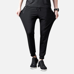 Mens Outdoor Breathable Slim Fit Stretch Comfy Quick Drying Sport Pants - Slabiti