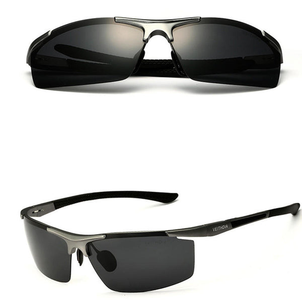 Aluminum Magnesium Alloy Sun Glassess Uv Protection Polarized Driving Outdooors Eyeglasseess - Slabiti
