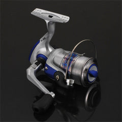 SL1000-7000 Spinning Fishing Reel Metal Spool Folding Arm Gear Ratio 5.5:1 - Slabiti