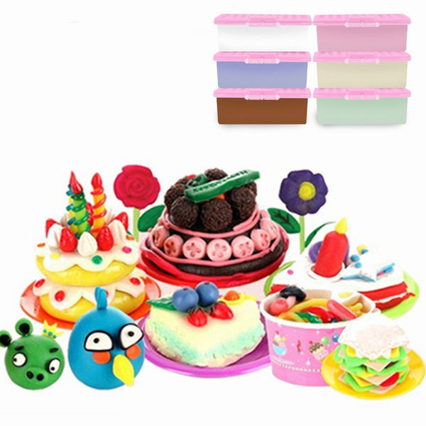 Nororo Paper Clay 150ML Large Volume Clay Soft Plasticine Drawing Slime Polymer Kid Manual Training - Slabiti