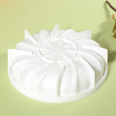 3D Silicon Baking Mold Backform Kuchenform Dessert  Ice Cream Mousse Chiffon Baking Pan - Slabiti