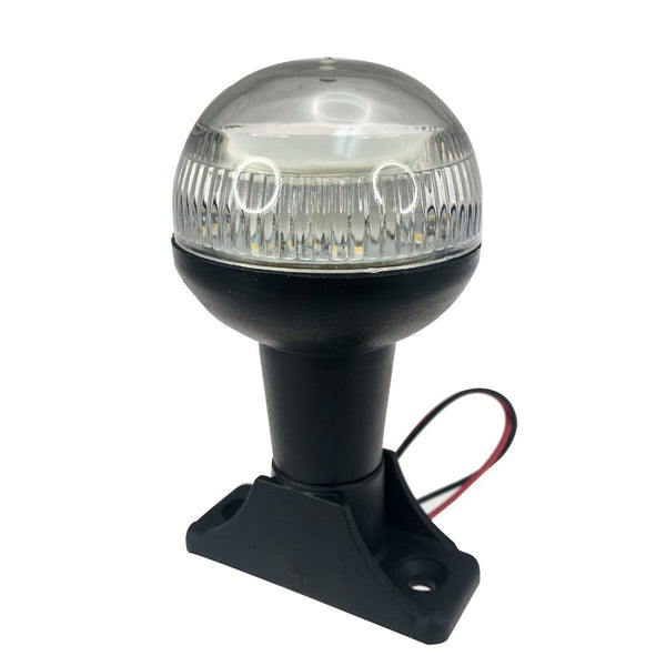 4  12V LED All Round Anchor Navigation Light Marine Boat SS Pole H USCG 2NM Waterproof - Slabiti