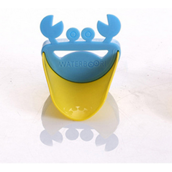 Baby Children Cartoon Crab Faucet Extender Hand Washing Device - Slabiti