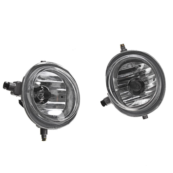 Car Front Fog Lights Lamps Clear Lens with H11 Halogen Bulbs Yellow Pair for Mazda 2 3 6 CX5 CX7 - Slabiti