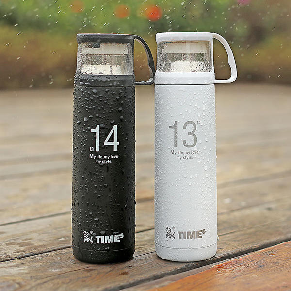 1314 Lovers Cup Stainless Steel Vacuum Flask Thermos Cup Portable Travel Mug - Slabiti