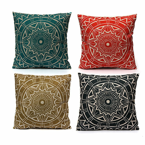 Nordic style Decorative Pillow Case Linen Cotton Cushion Cover Home Textile - Slabiti