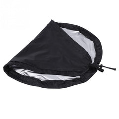 Kayak Cockpit Cover Waterproof Sunproof Shield Seat Protector Black Rowing Boat Accessories - Slabiti