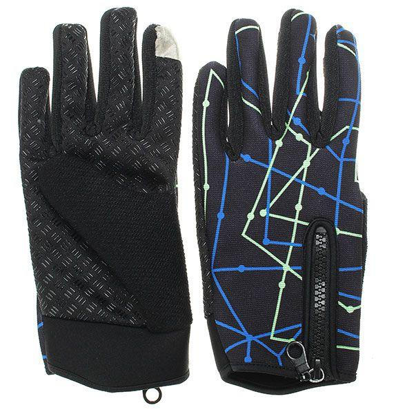 Tough Screenn Anti-skidding Full Finger Gloves For Motorcycle Riding - Slabiti
