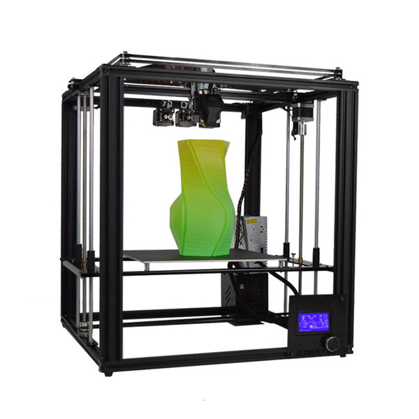 Zonestar Z9M3 3-in-1-out Mixed Color Full Metal 3D Printer 300*300*400mm Printing Size With Three Extruder/Auto Mixing Color Engine/Auto-Leveling/Offline Printing/3.5inch LCD Screen - Slabiti