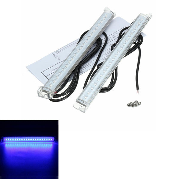 12V Transom Blue Light 21 Led Trim Tab Light Kit Transom Stern Bar Blue Under Water Boat Marine - Slabiti