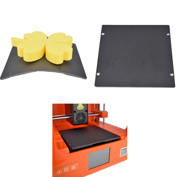 Easythreed 12.8*11.8cm Detachable Flexible Magnetic Absorption Printing Platform for NANO&Mickey 3D Printer - Slabiti