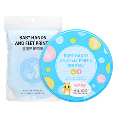 Baby Hand And Foot Print Makers Soft Modeling Inkpad Clay For Newborns DIY Kit Toys Gift - Slabiti