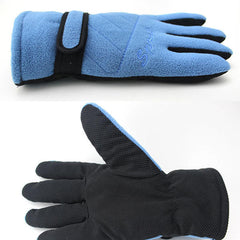 Men Women Winter Warm Gloves Climbing Riding Outdoor Windproof  Anti-slip Ski Mittens - Slabiti