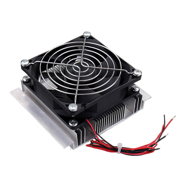 XD-2024 12V 72W Semiconductor Refrigeration Kit Mini Aquarium Chiller Small Water Refrigerator