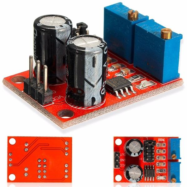 20pcs NE555 Pulse Frequency Duty Cycle Adjustable Module Rectangular Wave Signal Generator - Slabiti