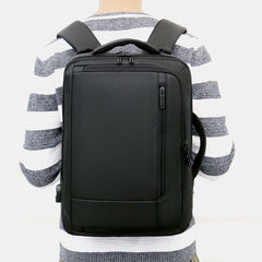 Large Capacity Multifunctional Loptop Backpack With USB Charging Port For Men - Slabiti