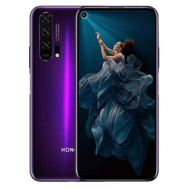 HUAWEI HONOR 20 Pro 6.26 inch 48MP Quad Rear Camera NFC 8GB RAM 256GB ROM Kirin 980 Octa core 4G Smartphone - Slabiti