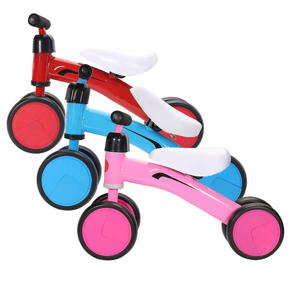 Sports Kids Balance Bike Push Trainer Toddler Bicycle Baby Walker Ride On Slider Developmental Toys - Slabiti