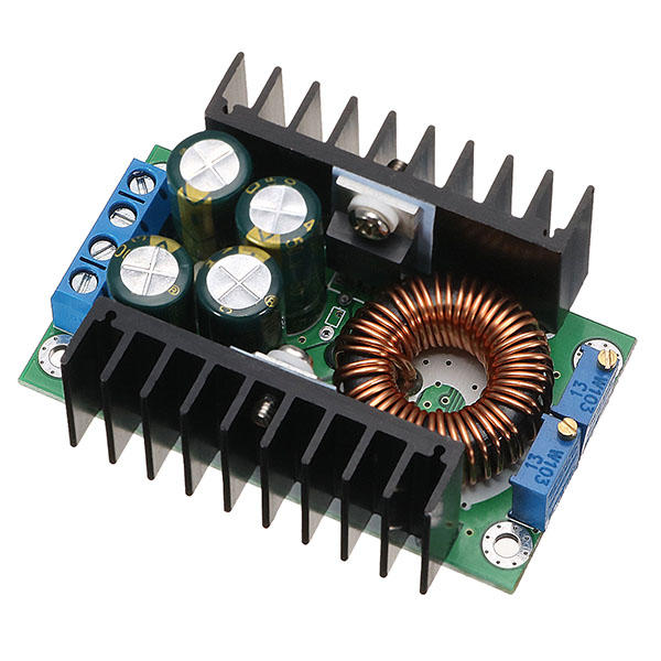 DC-DC 8A 300W Buck Adjustable Solar Charging LED Driver Vehicle Power Supply Module - Slabiti