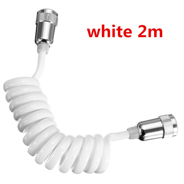 ABS Spring Type Retractable Flexible Hose For Shower Head - Slabiti