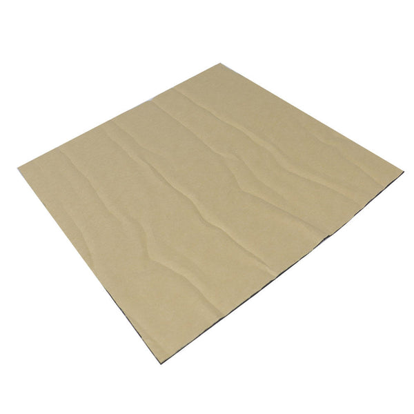 300*300*4mm Foil Self-adhesive Heat Insulation Cotton For 3D Printer Heated Bed - Slabiti