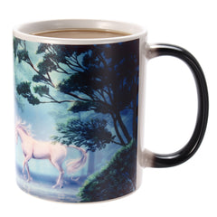350ml Novelty Unicorn Heat Color Changing Coffee Mugs Home Office Cup Kids Gifts - Slabiti