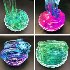 60ML Multicolor Slime Crystal Decompression Mud DIY Gift Toy Stress Reliever - Slabiti