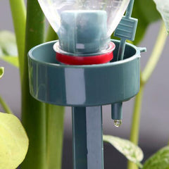 DIY Automatic Self-Watering Seepage Moving Plant Waterer Bottles Flower Water Drip Irrigation Device - Slabiti