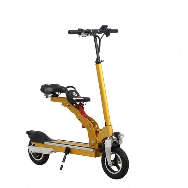 Electric Motorcycle Scooter 350W 36V Foldable with Child Seat - Slabiti
