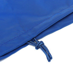 Boat Seat Cover Elastic Rope Drawstring Furniture Dust Outdoor Yacht Waterproof Protection Blue - Slabiti
