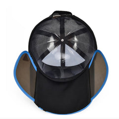 Mens Womens Adjustable Gardening Sun Protection Snapback Baseball Cap Sun Hat Big Brim - Slabiti