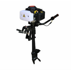 4HP 4 Stroke Outboard Motor Boat Engine Waterl Air Cooling System - Slabiti