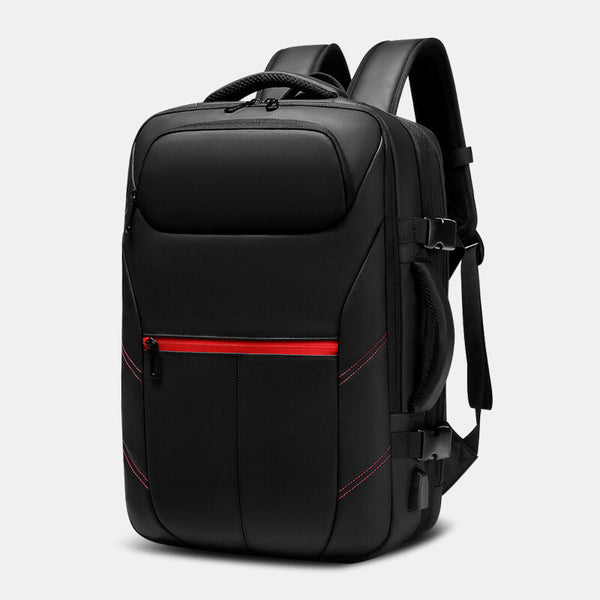 Men Fashion Travel Backpack Wearable Business Computer School Bag - Slabiti