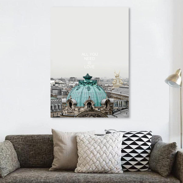 City Modern Canvas Print Painting Travel Wall Art Picture Home Decor Unframed Paintings