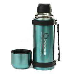 1.2L Large Outdoor Stainless Steel Travel Mug Thermos Vacuum Flask Bottle With Cup Bottles - Slabiti