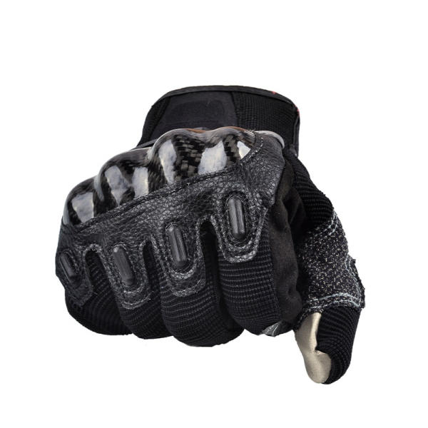 Motorcycle Full Finger Gloves Touch Screen Carbon Fiber For Dirt Bike Racing Cycling MAD-03 - Slabiti
