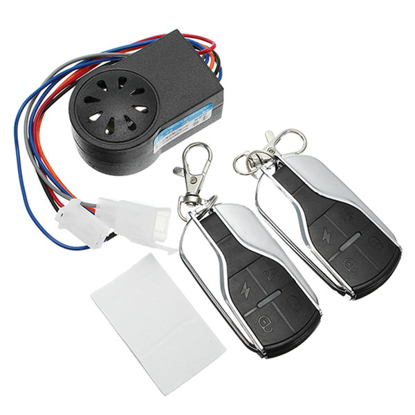48V 60V 72V Scooter Remote Control Anti Theft Alarm Security System - Slabiti