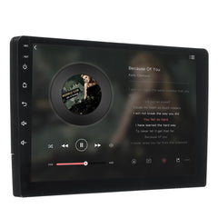 9 Inch 2 DIN Car Stereo Radio Quad Core Android 8.0 Touch Screen bluetooth WIFI GPS Nav Video MP5 Player - Slabiti