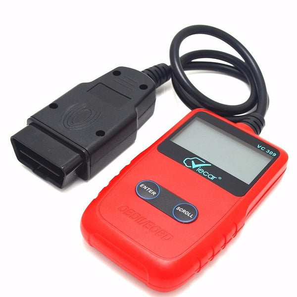 Viecar VC309 OBDII Scan Tool OBD2 Diagnostic Code Reader Work with All OBDII Compliant Vehicles - Slabiti