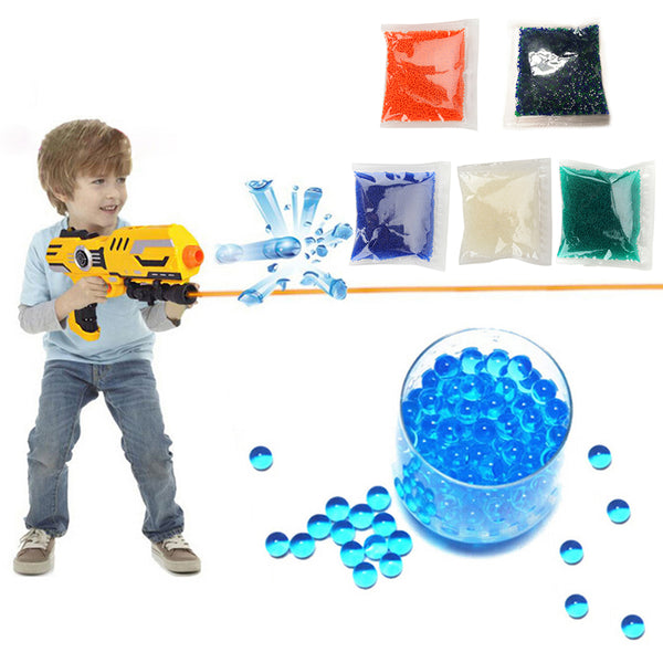 10000pc 7-8mm Gel Balls Ammo Crystal Water Beads Gel Toy - Slabiti